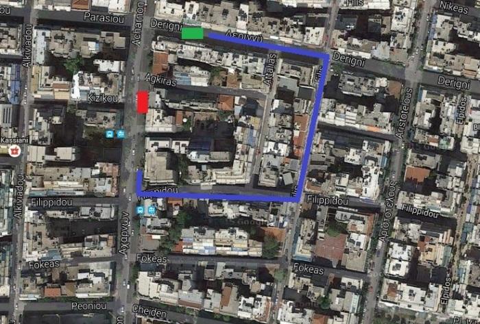 Πηγή: Google Maps (επεξεργασμένη)