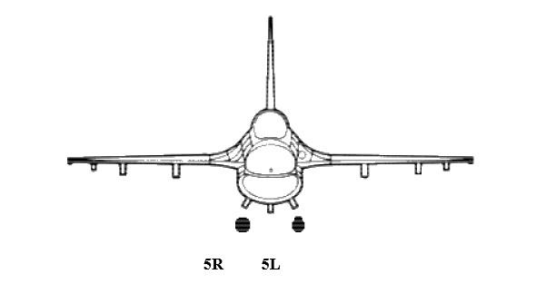 Πηγή: LANTIRN, AN/AAQ-13 Nacelle de navigation, Guide d'utilisation F-16C/D Block 50/52